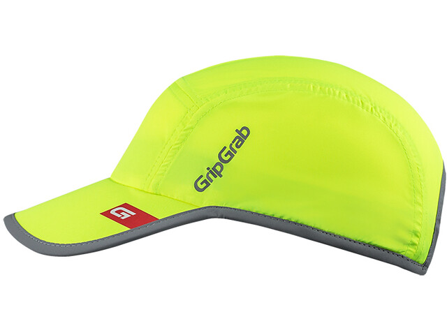 GripGrab Running Hi-Vis Hovedbeklædning, fluo yellow